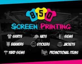 "ridwantjandra tarafından Design a 5"" x 7"" mailer for screen printing shop için no 5"