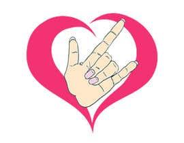 #37 for Heart & ILU Hand by alifffrasel