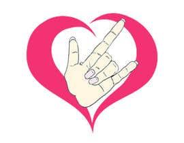 #38 for Heart & ILU Hand by alifffrasel