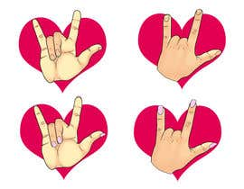 #6 for Heart & ILU Hand by victordrg