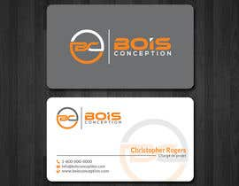 #5 for Design some Business Cards for BOIS CONCEPTION by papri802030