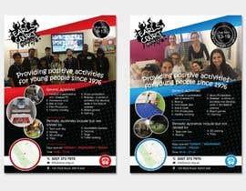 Nro 24 kilpailuun Design 2 double sided flyers to advertise a youth centre. käyttäjältä ferisusanty