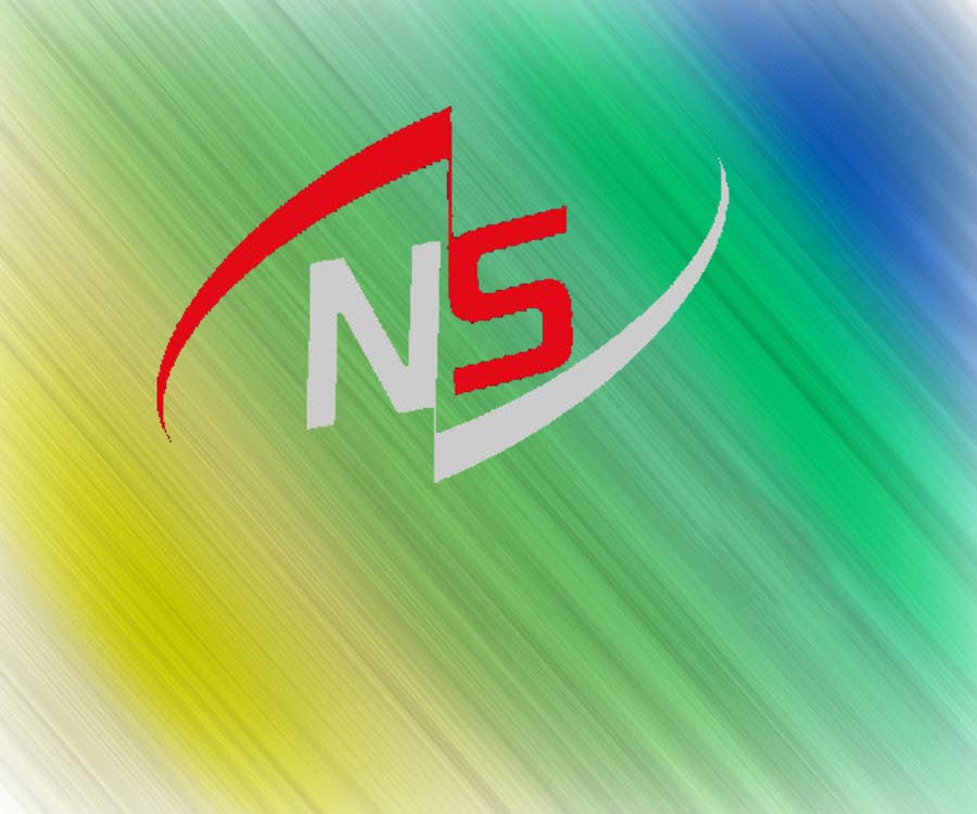 Entry #13 by asadali19 for design a simple logo for letter NS ...
