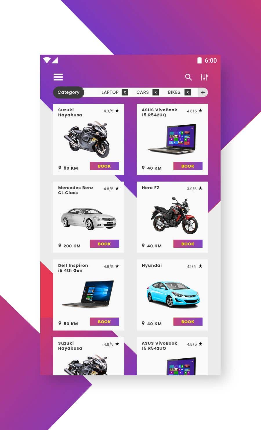 Entry #21 by vsdriftdezin for Android app Home screen design ...