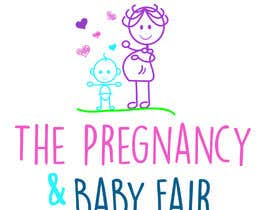 #3 for The Pregnancy & Baby Fair Logo by resca1988