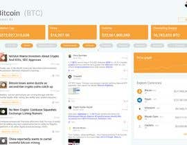 #25 for Design a Cryptocurrency News Reader Web App by WilDesignZA