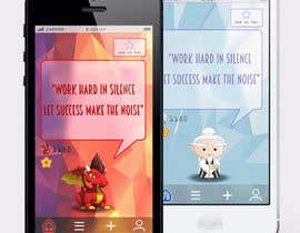 #12 for Design an App Mockup for new Quotes App af Pac1f1cus