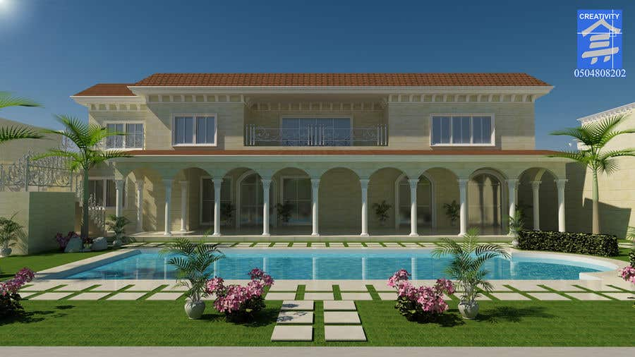 Entry #11 by alvinbacani for House and Landscaping - Schematic and