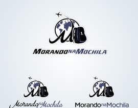 #55 para Projetar um Logo for Morando na Mochila (travel blog) por BuDesign