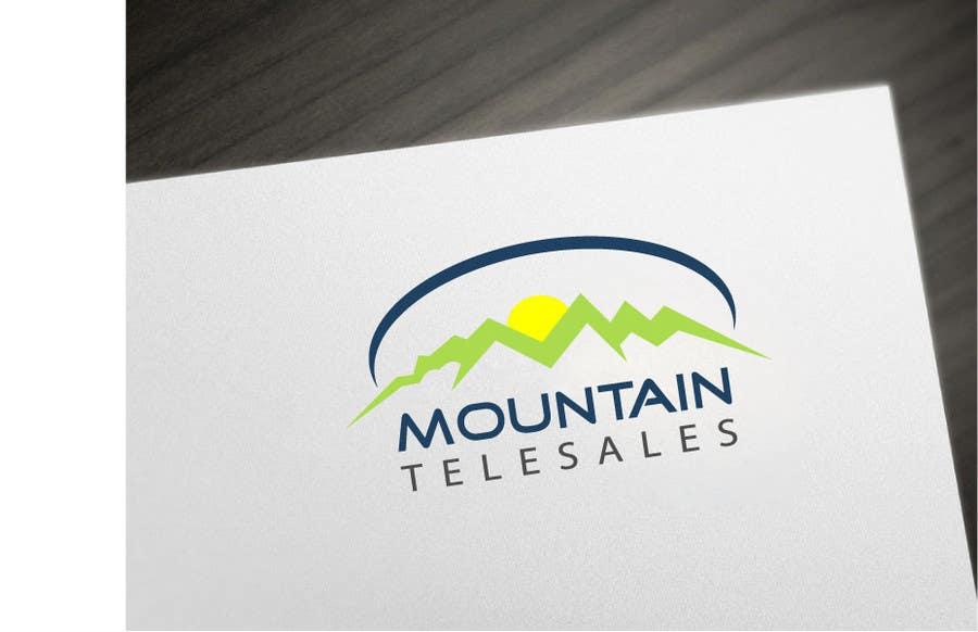 Penyertaan Peraduan #                                        25                                      untuk                                         Mountain TeleSales Logo