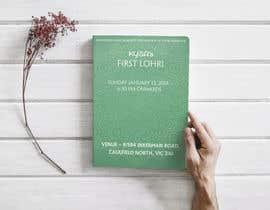 #2 for Baby First Lohri Invitation Card Design af monirhoossen