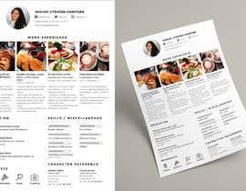 #6 untuk Design a Instagram Themed CV, oleh angebalingasa