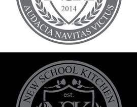 "NikoMDesign tarafından Design a Logo for ""New School Kitchen"" restaurant için no 14"