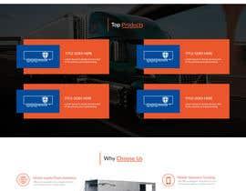 #31 for Design homepage for website trailer dealer by ByteZappers