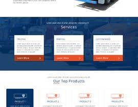 #26 for Design homepage for website trailer dealer by joleenfetter