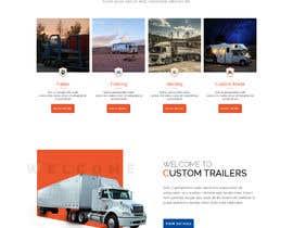 #23 for Design homepage for website trailer dealer by kreativeimpress