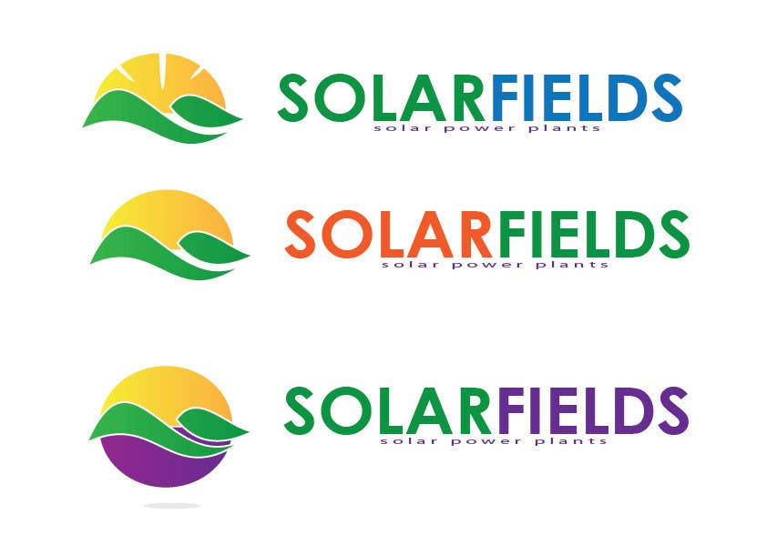 Participación en el concurso Nro.                                        500                                      para                                         Logo Design for Solar Fields