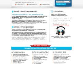 shybkar tarafından Website Design for EMERGENCY HYPNOSIS için no 36
