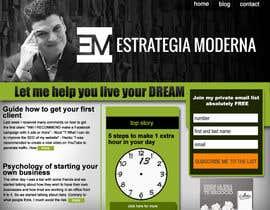 akalyanpurkar tarafından Design a Website Mockup for personal blog, landing page and blog page için no 2