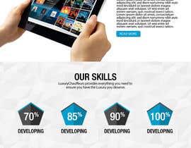 SoadElHadad tarafından Design a Website Mockup for personal blog, landing page and blog page için no 8