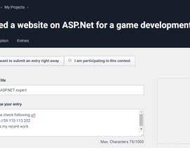 #1 para Need a website on ASP.Net for a game development company por mingxiao2008