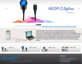 nº 110 pour Website Design for BLUSKY optical probes par Agilitron