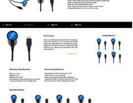 #115 pentru Website Design for BLUSKY optical probes de către Agilitron