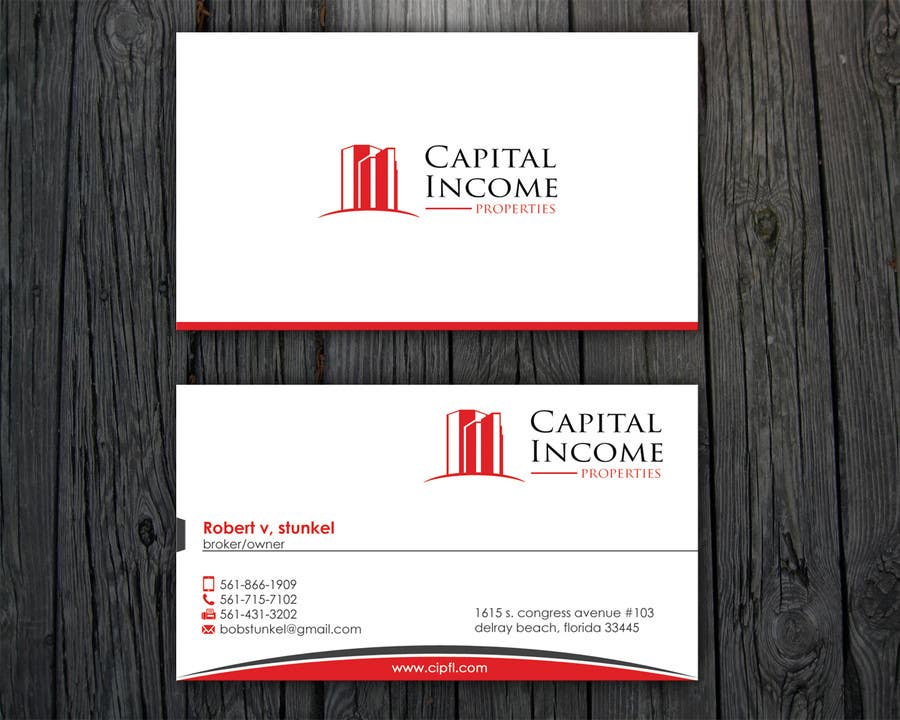 Entry 8 by aminur33 for design some business cards for commercial contest entry 8 for design some business cards for commercial real estate company reheart Choice Image