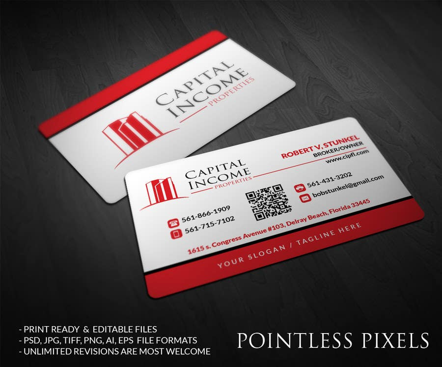 Entry 22 by pointlesspixels for design some business cards for contest entry 22 for design some business cards for commercial real estate company reheart