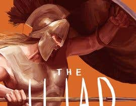 "#96 for Illustration of cover page for a Greek Mythology e-book entitled ""The Iliad"" with provisional subtitle ""The fall of Troy"" by Gunacidus"