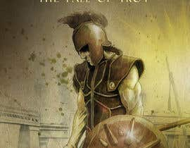 "#72 for Illustration of cover page for a Greek Mythology e-book entitled ""The Iliad"" with provisional subtitle ""The fall of Troy"" by DenioViana"