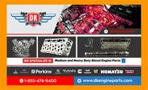 Graphic Design Contest Entry #71 for Design a Company Banner For Engine Parts