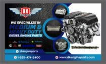 Graphic Design Contest Entry #101 for Design a Company Banner For Engine Parts