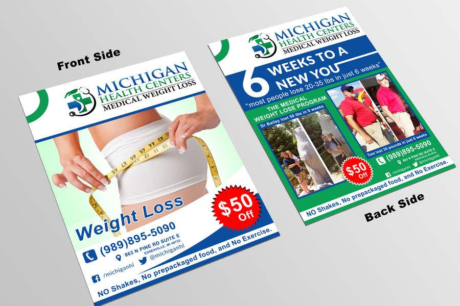 entry 50 by bossminhajmahmud for medical weight loss flyer freelancer