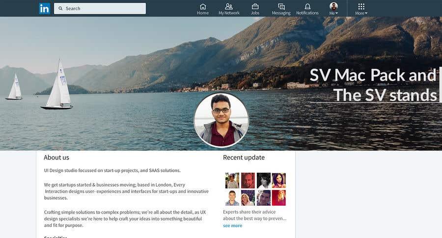 Entry 3 By Saifmajhar For Linkedin Banner Ocean Sailing