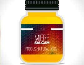 #31 untuk Label design for Honey Jar (eticheta miere) oleh leiidiipabon24