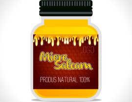 #32 untuk Label design for Honey Jar (eticheta miere) oleh leiidiipabon24