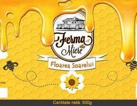 #16 untuk Label design for Honey Jar (eticheta miere) oleh lau87artugyan