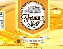 #17 untuk Label design for Honey Jar (eticheta miere) oleh lau87artugyan