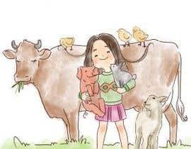 #14 for I need an Illustrator for Vegan Illustration af kellynya