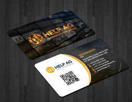 Nro 160 kilpailuun Design profesisonal Business Cards for Cybersecurity käyttäjältä papri802030