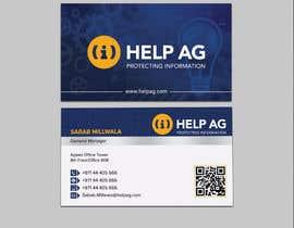 Nro 123 kilpailuun Design profesisonal Business Cards for Cybersecurity käyttäjältä sabbir2018