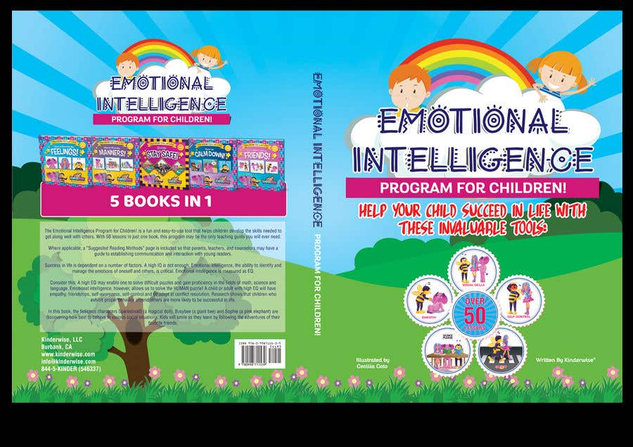 Contest Entry #17 for RE-DESIGN COVER for MY Children's book in Photoshop!