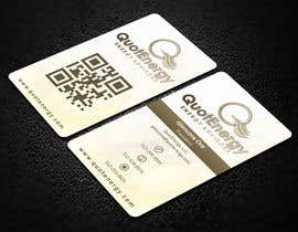 #268 untuk Vertical Business card for Energy firm oleh ahsanhabib564