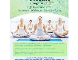#13 untuk I need some Graphic Design for a yoga studio oleh gerardolamus