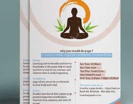 #26 untuk I need some Graphic Design for a yoga studio oleh Hasan628