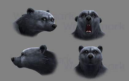 Image of                             3D Cartoon Bear Modeling