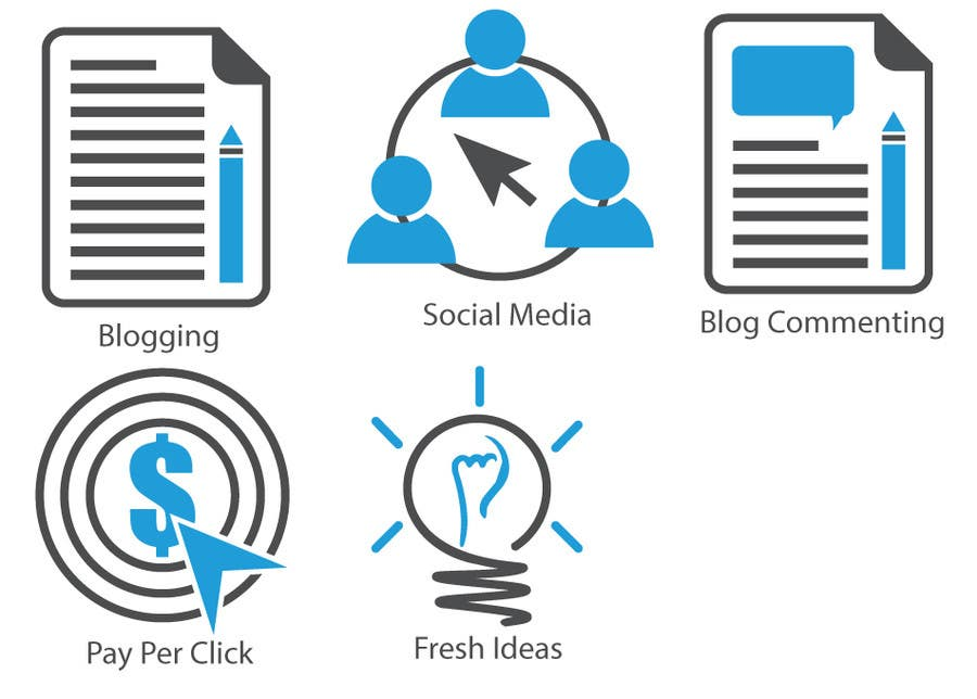 Inscrição nº                                         13                                      do Concurso para                                         Web and Online Marketing Icon Design Set