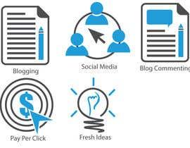 #13 para Web and Online Marketing Icon Design Set por nichinu