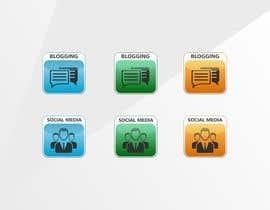#11 para Web and Online Marketing Icon Design Set por AlenaPolyah